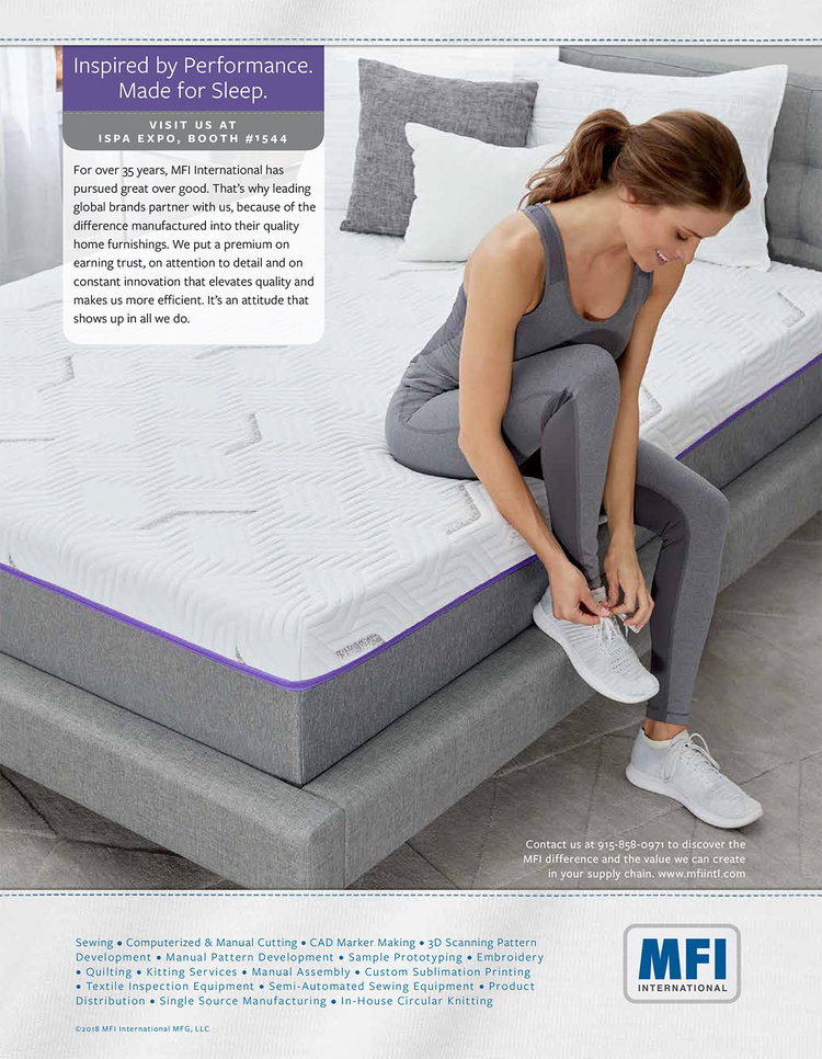Creative Ticking Bedding Tear Sheet by Salt Paper Studio of Charlotte, NC