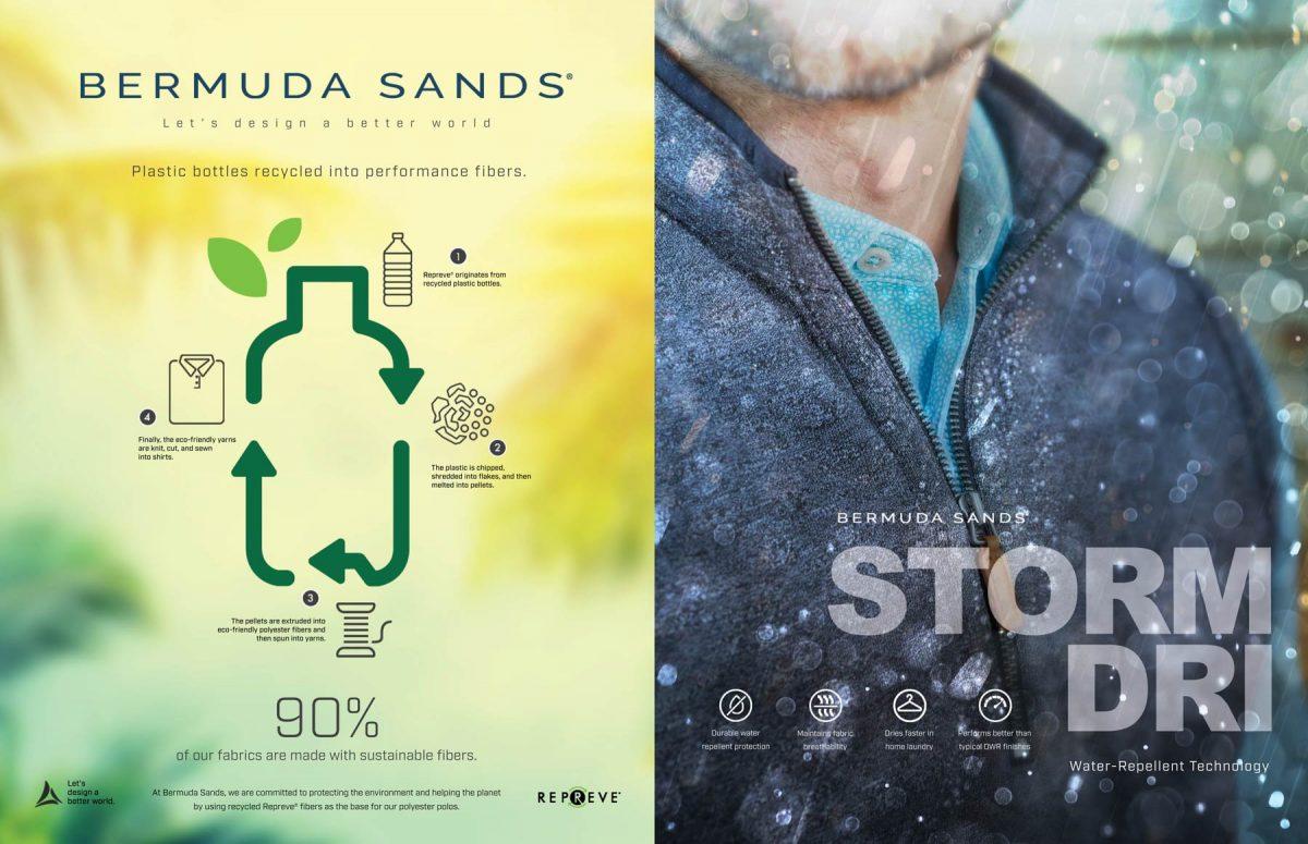 Bermuda Sands Tear Sheet by Salt Paper Studio of Charlotte, NC