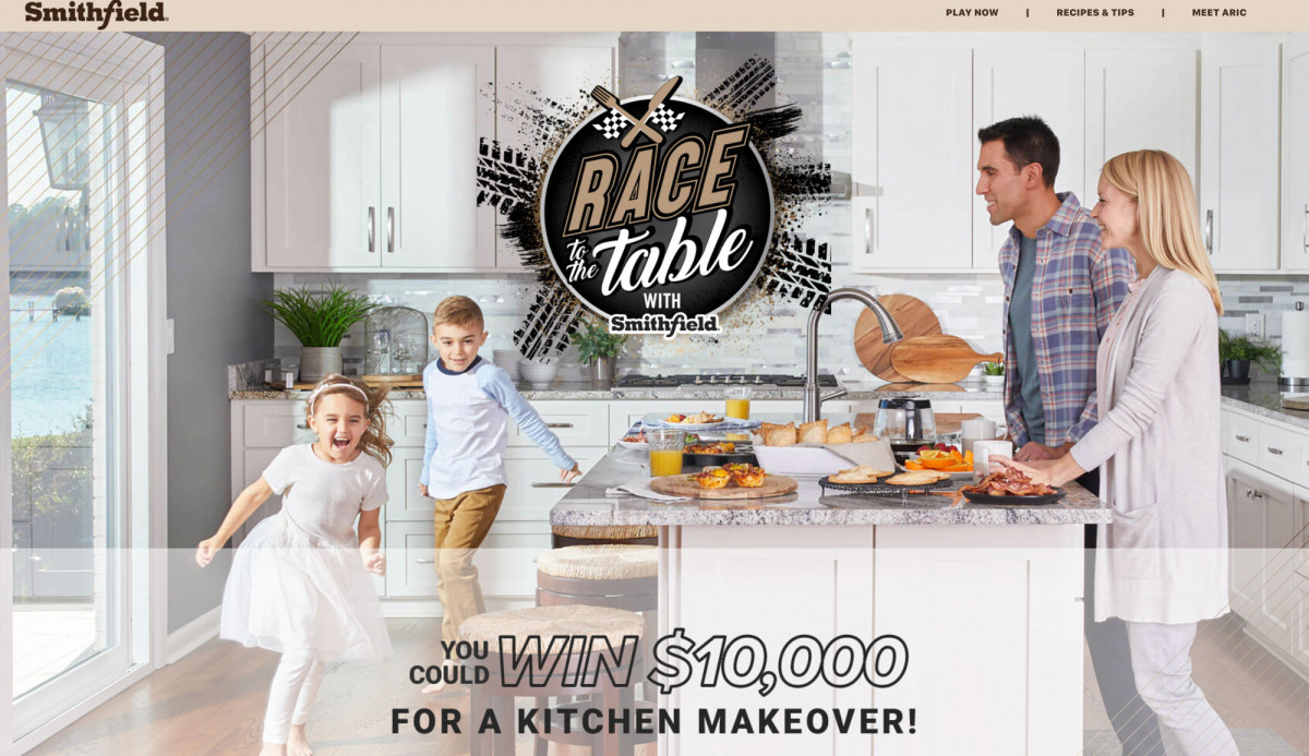 Smithfield Race to the Table Tear Sheet by Salt Paper Studio of Charlotte, NC